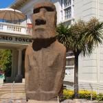 Моаи от Великденския остров във Виня дел Мар