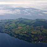 Регион Лос Лагос (Езерата) от въздуха