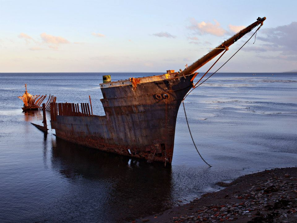 """Останките на фрегатата """"Лорд Лонсдейл"""""""