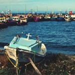 Рибарското пристанище в Рио Секо