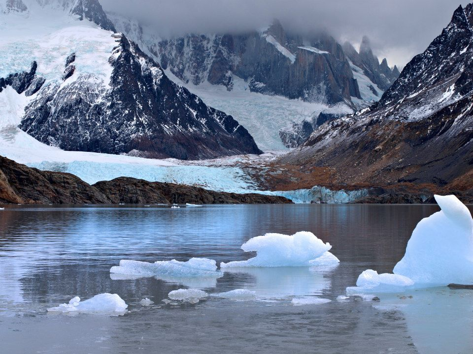 Айсберги и глетчери