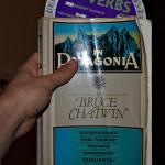 In Patagonia със специфичен книгоразделител
