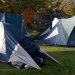 Лагерчето ни в Рио Серано