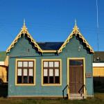 Типична патагонска ламаринена къща