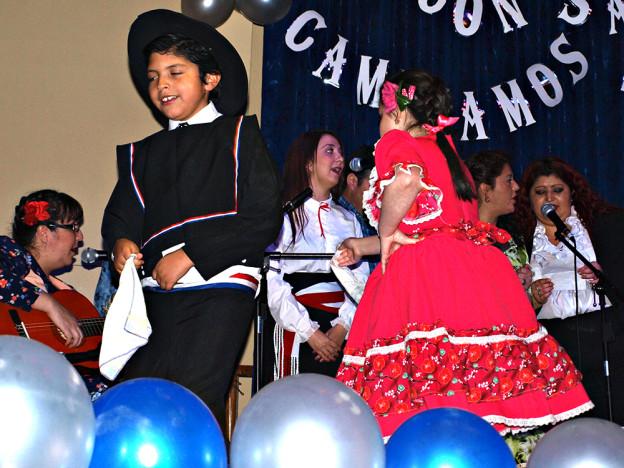 Танцьори на традиционната куека